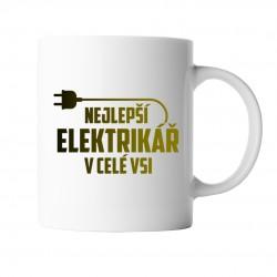 Nejlepší elektrikář v celé vsi - hrnek