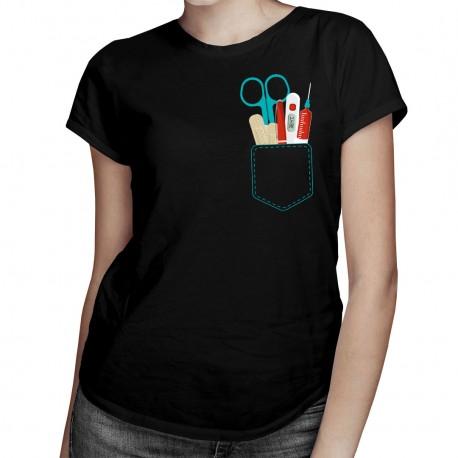 Kapsa sestřičky - dámské tričko s potiskem