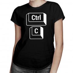 CTRL+C - máma - dámské tričko s potiskem