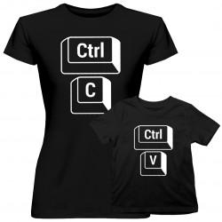 CTRL+C CTRL+V - tričko pro mamu a dcery