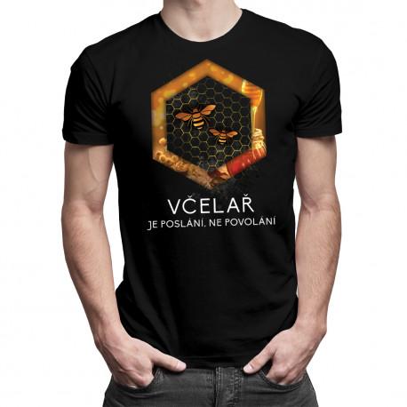 Včelař je poslání - pánské tričko s potiskem