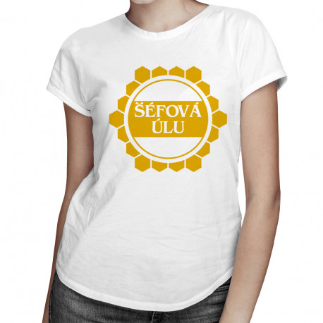 Šéfová úlu - dámská trička s potiskem