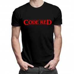 Code red - dámské nebo pánské tričko s potiskem