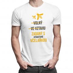 Zadaný s atraktivní včelařkou - pánské tričko s potiskem