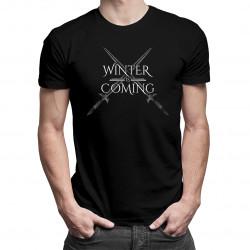 Winter is coming - dámské nebo pánské tričko s potiskem