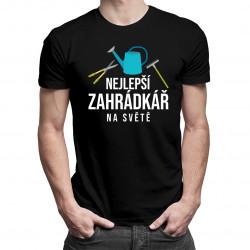 Nejlepší zahrádkář na světě - pánské tričko s potiskem