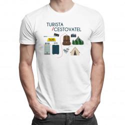 Cestovatel / Turista - dámské nebo pánské tričko s potiskem