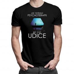 Jiní potřebují psychoterapii, mně stačí udice - dámské a pánské tričko s potiskem