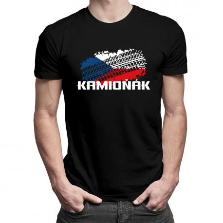 Kamioňák - pánské tričko s potiskem