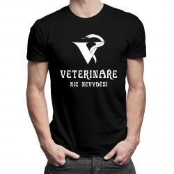 Veterináře nic nevyděsí - pánská a dámská trička  s potiskem