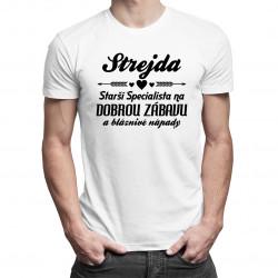 Strejda - starší specialista - pánské tričko s potiskem