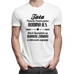 Táta - předseda představenstva - pánské tričko s potiskem