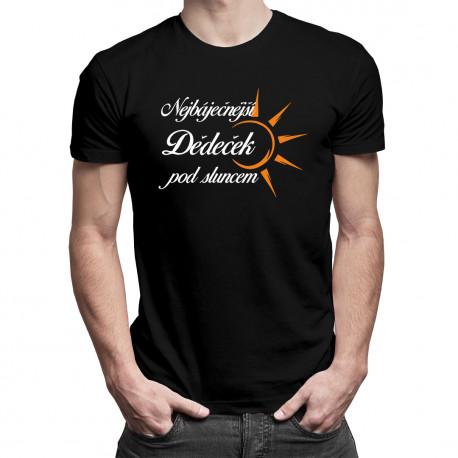 Nejbáječnější dědeček pod sluncem - Pánská trička  s potiskem