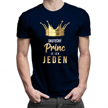 Skutečný princ je jen jeden - pánské tričko s potiskem