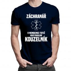 Záchranář - pánská trička  s potiskem