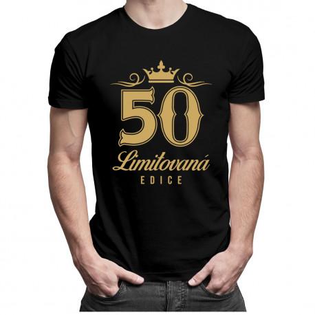 50 let - limitovaná edice - pánská a dámská trička  s potiskem