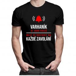Varhaník je jako hasič - dámské tričko s potiskem
