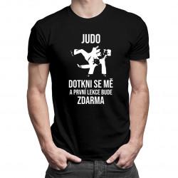 Judo - pánská trička  s potiskem