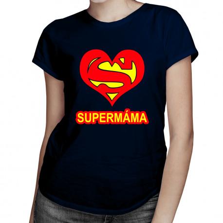 Super máma - dámská trička  s potiskem