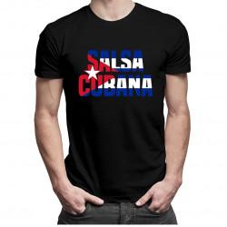Salsa cubana - dámské nebo pánské tričko s potiskem