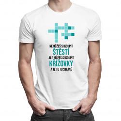 Můžeš si koupit křížovky - pánská a dámská trička  s potiskem