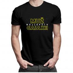 Nejlepší muž v galaxii - pánské tričko s potiskem