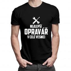 Nejlepší opravář v celé vesnici - Pánská trička  s potiskem