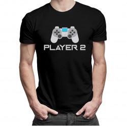 Player 2 v2 - dámské a pánské tričko s potiskem