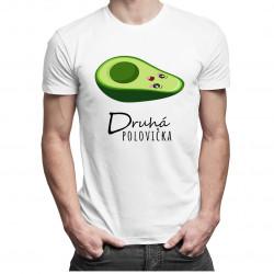 Druhá polovička v2 - dámské a pánské tričko s potiskem