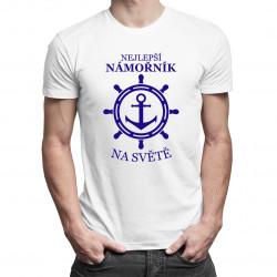 Nejlepší námořník na světě - pánská trička  s potiskem