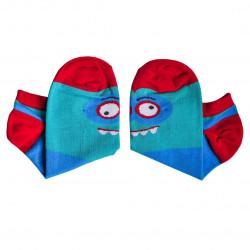 Vtipné ponožky netvoři - nízký