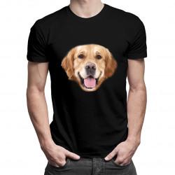 Golden retriever - dámské a pánské tričko s potiskem