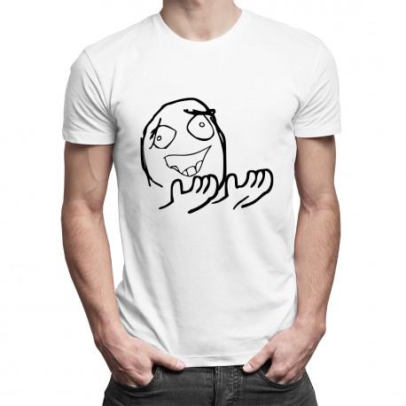 Why? - pánské tričko s potiskem