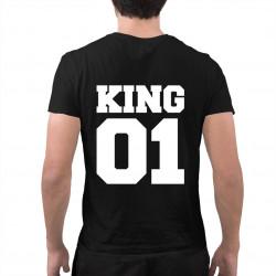 KING 01 - Pánská trička  s potiskem
