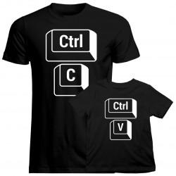 CTRL+C CTRL+V - tričko pro otca a syna