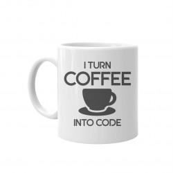 I turn coffee into code - hrnek