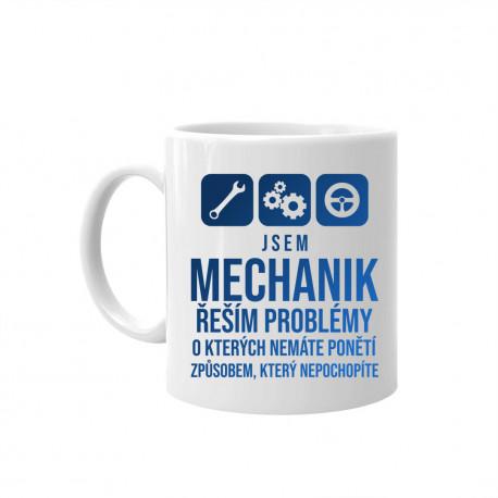 Jsem mechanik - řeším problémy - hrnek