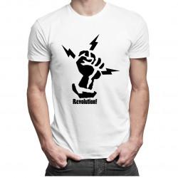 Revolution - dámské nebo pánské tričko s potiskem