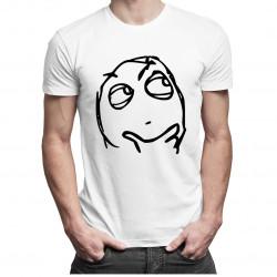 Questioning - pánské tričko s potiskem