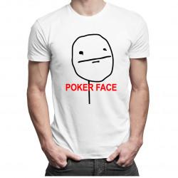 Poker Face - pánské tričko s potiskem