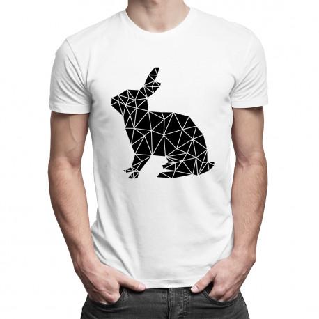 Geometric bunny - pánské tričko s potiskem