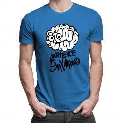 Where is my mind - pánské tričko s potiskem