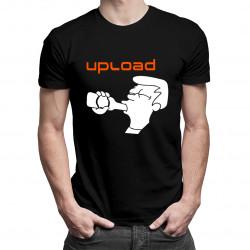 Upload - pánské tričko s potiskem