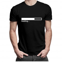 Loading... - pánské tričko s potiskem