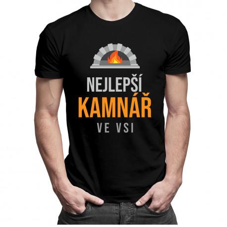 Nejlepší kamnář ve vsi - pánská trička  s potiskem