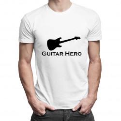 Guitar Hero - dámské nebo pánské tričko s potiskem