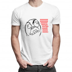 Fuuu - meme - pánské tričko s potiskem