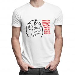 Fuuu - meme - dámské nebo pánské tričko s potiskem