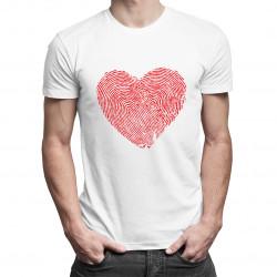 Finger Heart - pánské tričko s potiskem