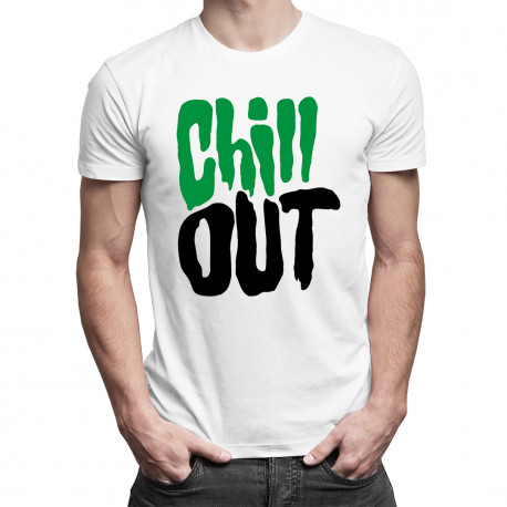 Chill Out - dámské nebo pánské tričko s potiskem
